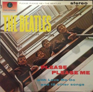 The Please Please Me cover.